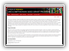 UMD & Smithsonian Seed Grant Program